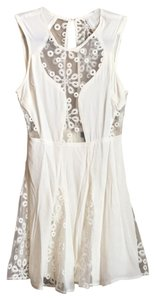 Nasty Gal short dress White cream on Tradesy