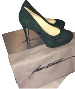 Brian Atwood Hunter Green Pumps