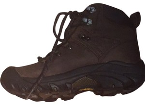 Keen Brown/Black Boots