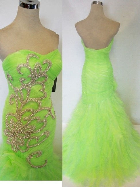 Mac Duggal Couture New Prom 61199h Size 8 Dress