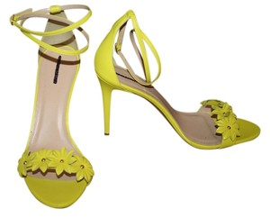 J.Crew Lemon Sorbet Pumps