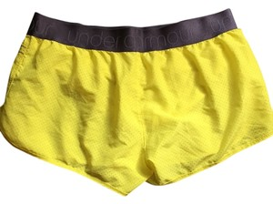 Under Armour Yellow Shorts