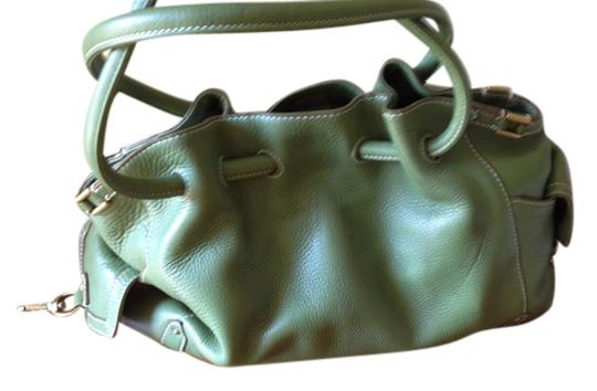 Preload https://item5.tradesy.com/images/cole-haan-green-leather-satchel-1504229-0-0.jpg?width=440&height=440