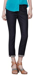 AG Adriano Goldschmied Anthropologie Crop Roll Up Capri/Cropped Denim