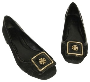 Tory Burch Reva Sally Monogram Miller Thora Black Pumps