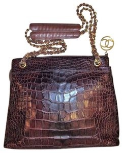 Timeless Chanel Rare Chanel Precious Skins Chanel Tote Crocodile Shoulder Bag