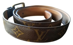 Louis Vuitton Men's Louis Vuitton monogram belt