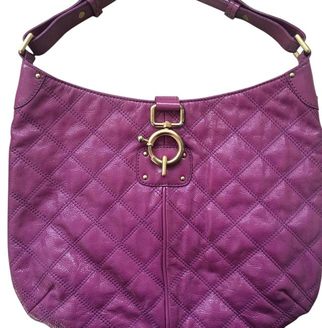 Item - Quincy Purple Patent Leather Hobo Bag