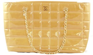 Chanel Patent Leather New With Tags Shoulder Bag