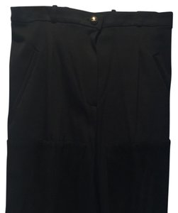 Chanel Straight Pants Black