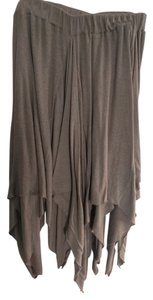 Free People Vintage Night Out Date Night Summer Skirt beige