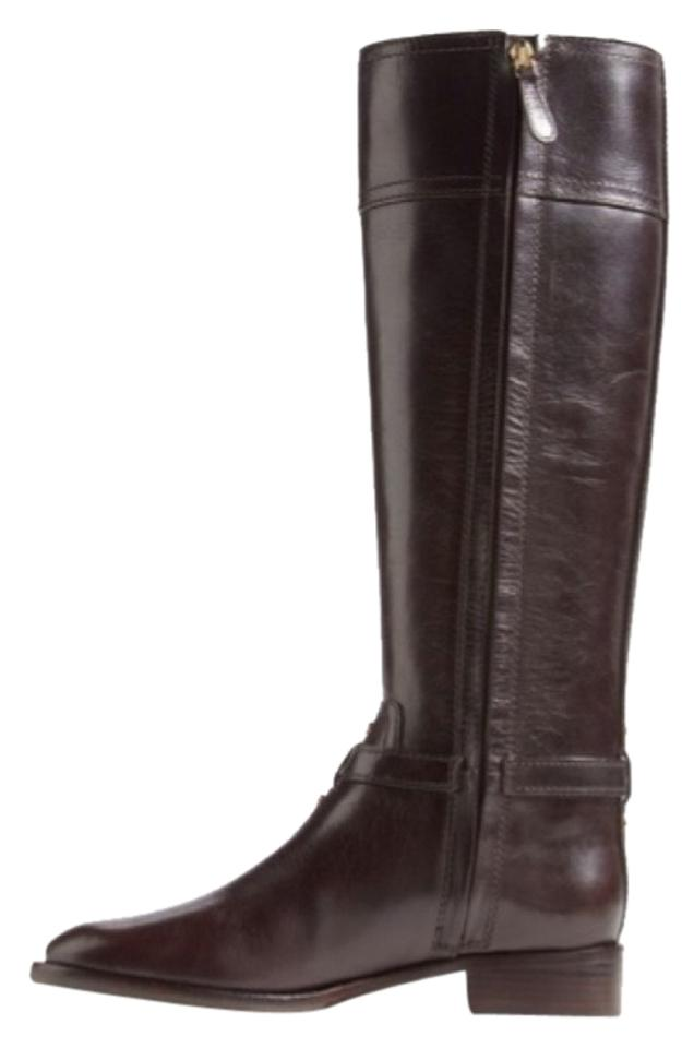 Tory Burch Coconut/Dark Brown Riding Eloise Riding Brown Boots/Booties 4447e8