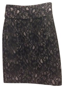 H&M Skirt Black Lace