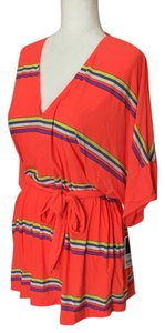 Juicy Couture V-neck Cover Up Tiki Torch