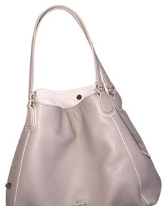 Coach Tote in Light Gray
