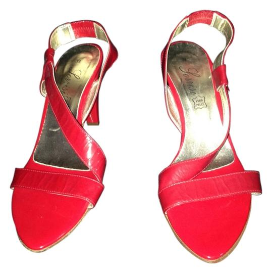 Preload https://item3.tradesy.com/images/vera-pelle-red-strappy-heels-italy-sandals-size-us-8-15045967-0-1.jpg?width=440&height=440