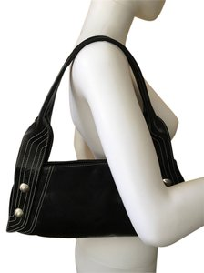 Christopher Kon Leather Asymetrical Elegant Shoulder Bag
