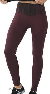 Lululemon New With Tags Lululemon All The Right Places Pant Bordeaux Size 6