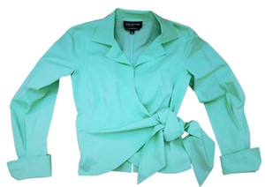 Jones New York Top Mint Green