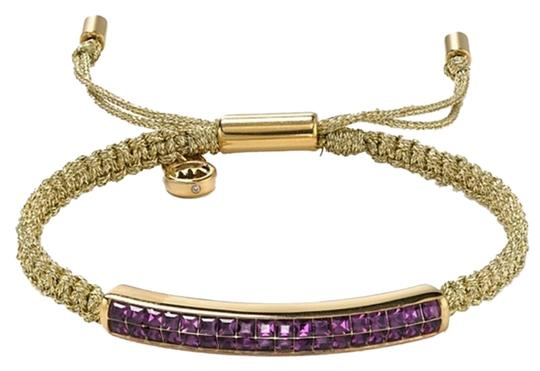 Preload https://img-static.tradesy.com/item/1504672/michael-kors-adjustable-stunning-iris-pave-crystal-bar-macrame-bracelet-0-0-540-540.jpg