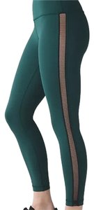 Lululemon New With Tags Lululemon High Times Wing Mesg Size 4 Deep Green
