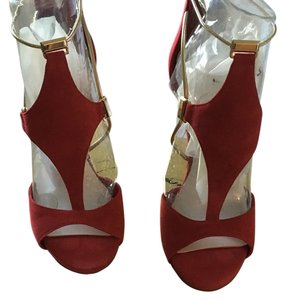 Fergie Red with gold detail Formal