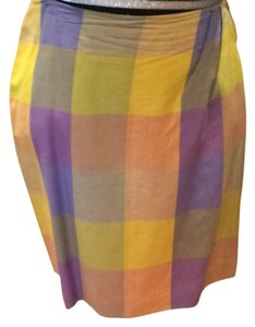 Laundry by Shelli Segal Mini Skirt MULTYCOLOR