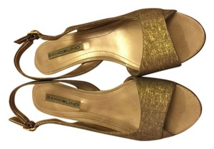 Bandolino Gold Wedges