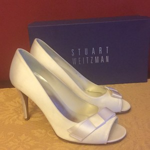 Stuart Weitzman Bowover Wedding Shoes
