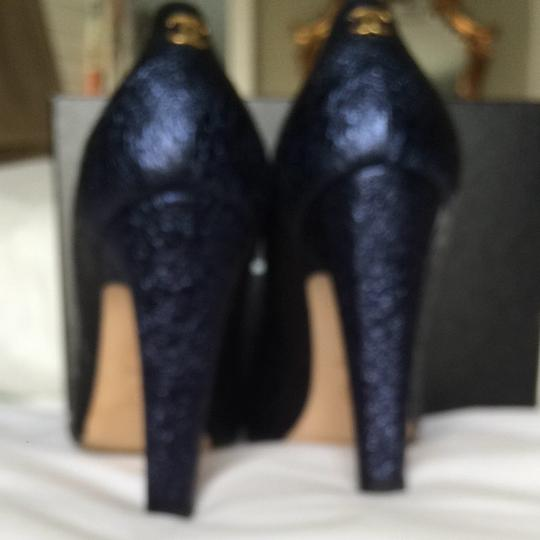 Chanel BLUE and BLACK Pumps Image 1