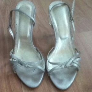 J.Crew Kitten Heels Wedding Heels metalic Formal