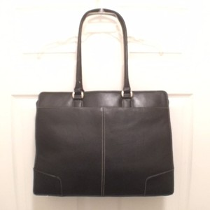 Targus Leather Tote Computer Laptop Bag