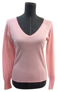 Elie Tahari Pink Cotton Size S Sweater
