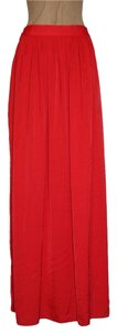 BCBGMAXAZRIA Sophia Maxi Skirt ORANGE