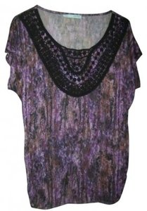 Maurices Top Purples & Black