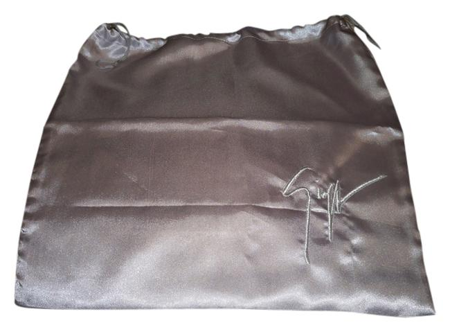 Item - Gray Satin Finish with Silver Logo Large 16x16 Dust Bag