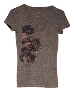 American Eagle Outfitters T Shirt Gray (Multi)