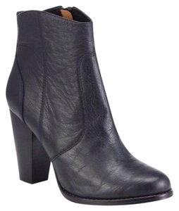 Joie Bootie Leather Black Boots