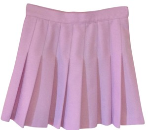 American Apparel Mini Skirt Purple
