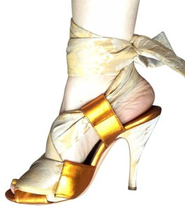 Vivienne Westwood Metallic Sandals