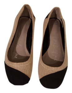 TOMS Multi (Beige with black) Flats