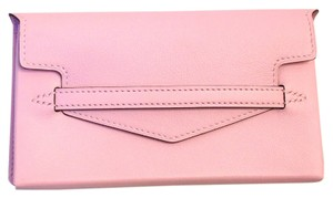 Hermès #6174 RARE Rose Pink Sakura Smart Card Case Swift leather Clutch Wallet Pouch Pochette Bag Card Bill Phone Holder