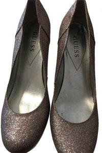 Guess Multi color Glitter Pumps