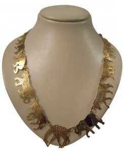 Wild Byrde Wild Byrde african animal necklace