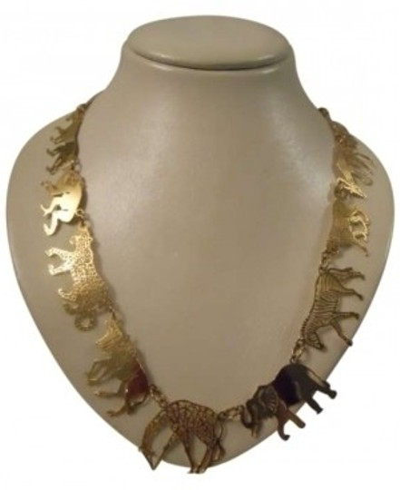 Preload https://img-static.tradesy.com/item/150496/gold-plated-african-animal-necklace-0-0-540-540.jpg