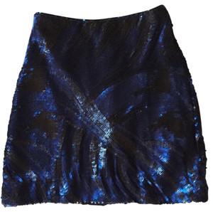 bebe Mini Skirt Blue