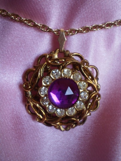 Unknown Vintage w/rhinestones necklace