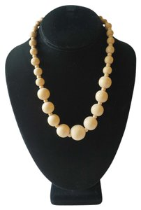 Handmade Wooden bead Necklace