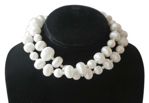 Pearl Shine Beaded Vintage Necklace
