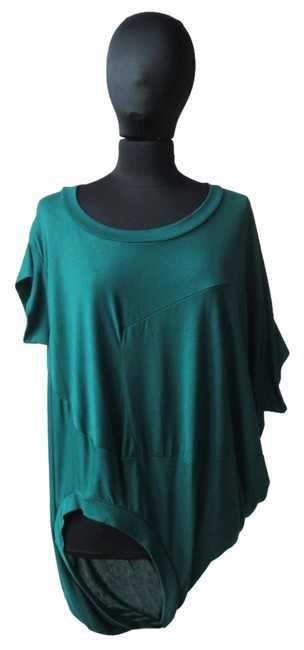 Preload https://img-static.tradesy.com/item/1505072/turquoisegreen-asymmetric-sculptural-tunic-size-os-one-size-0-0-650-650.jpg
